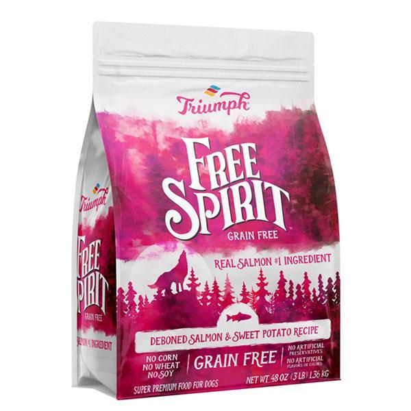 Triumph Pet Free Spirit Grain-Free Dry Dog Food - Deboned Salmon & Sweet Potato Recipe