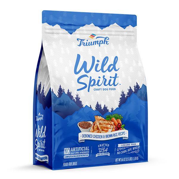 Triumph Pet Wild Spirit Dry Dog Food - Deboned Chicken & Brown Rice Recipe