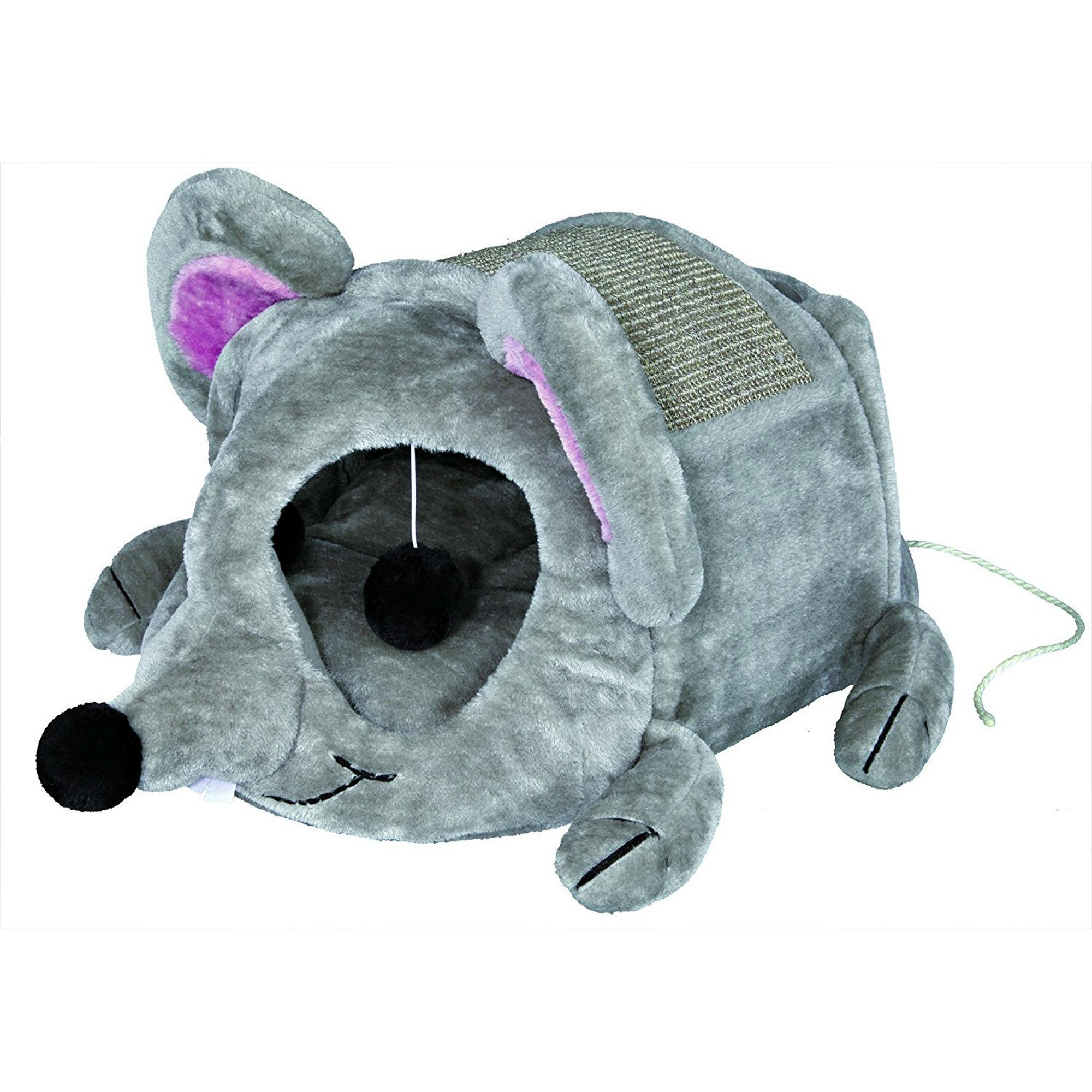Trixie Lukas Cuddly Cat Cave - Mouse