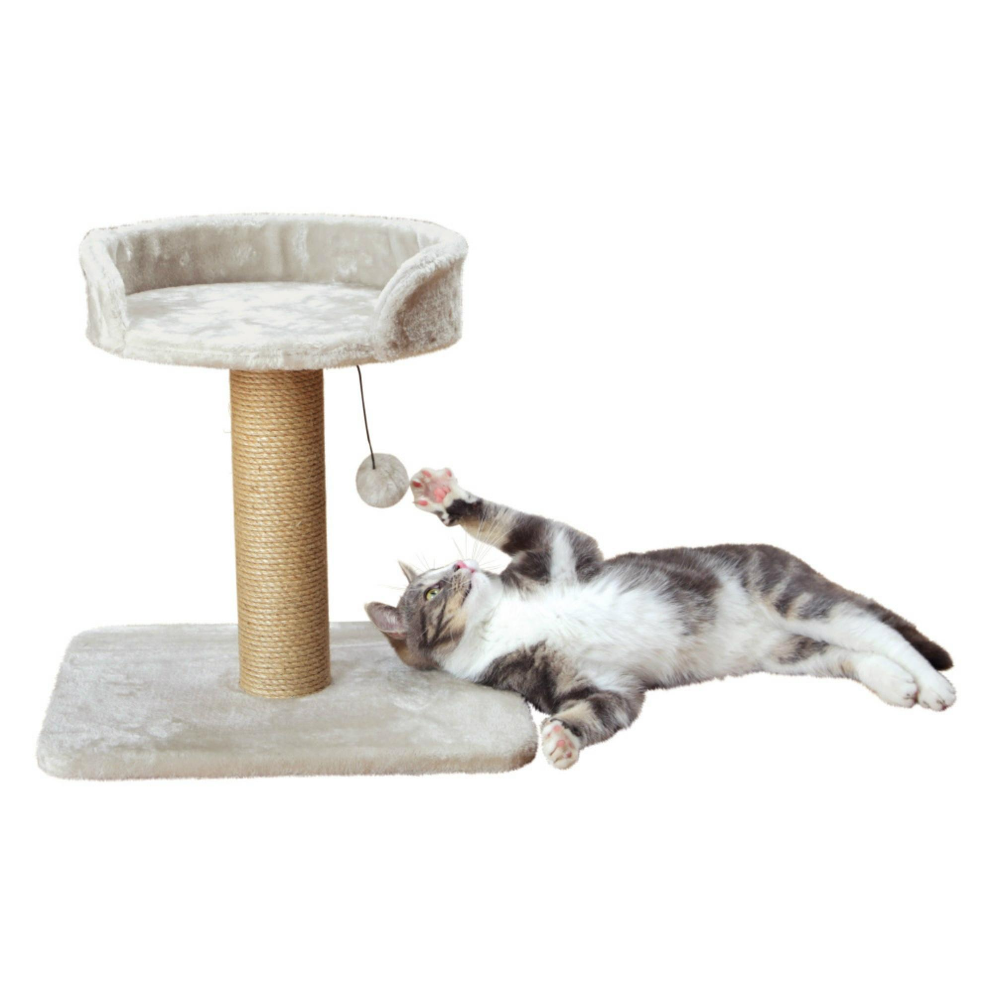 Trixie Mica Cat Tree - Light Gray