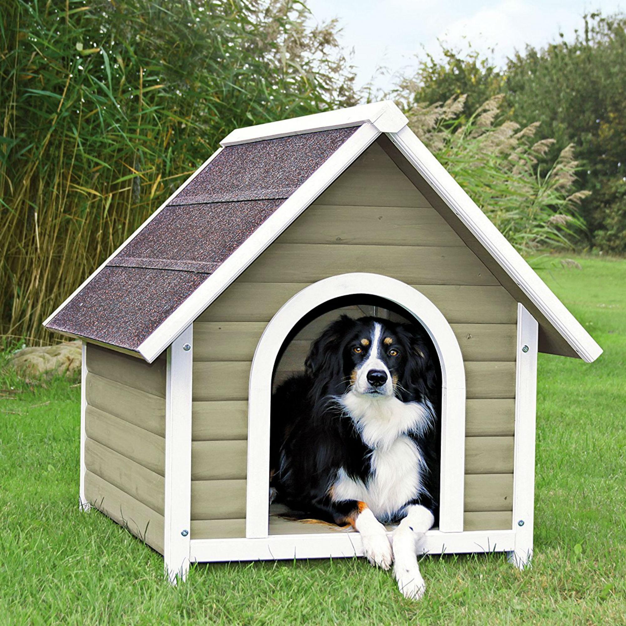 Trixie Nantucket Cottage Dog House - Gray