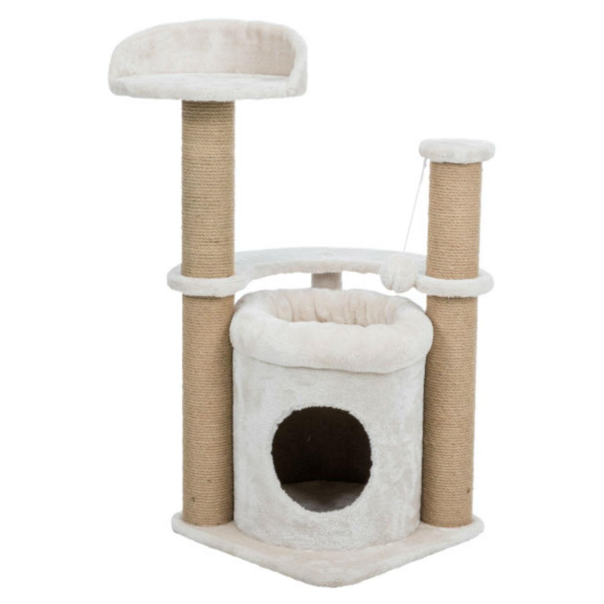 Trixie Nayra Scratching Post Cat Condo - Beige