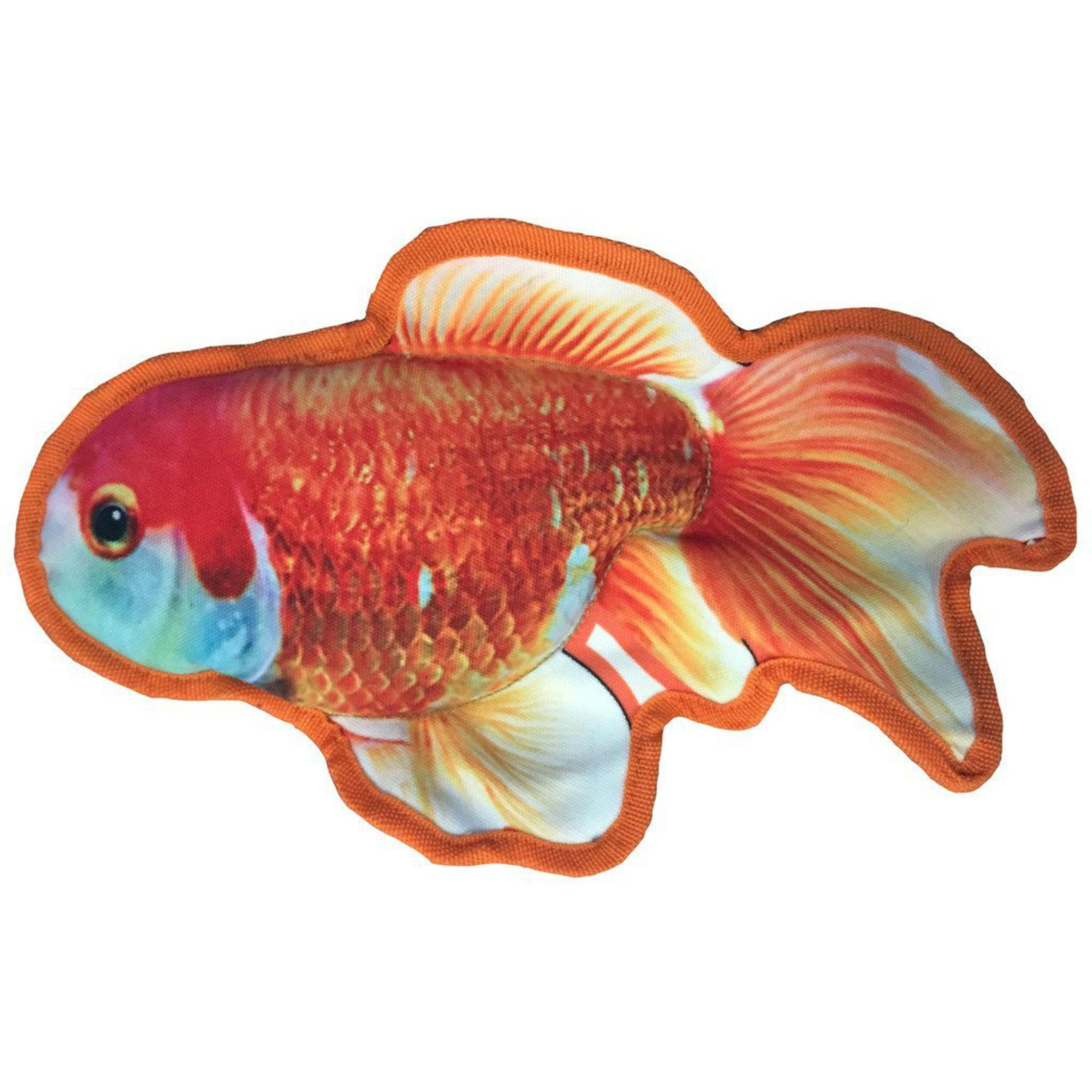 Tropical Fish Dog Toy - Goldfish