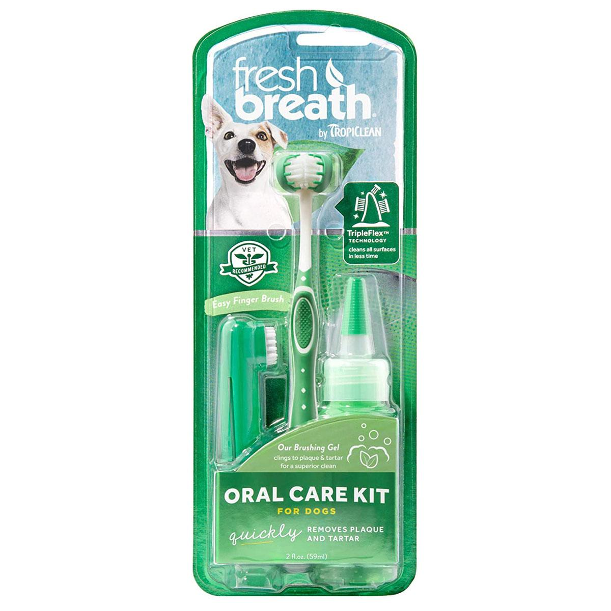 TropiClean Fresh Breath Pet Oral Care Kit