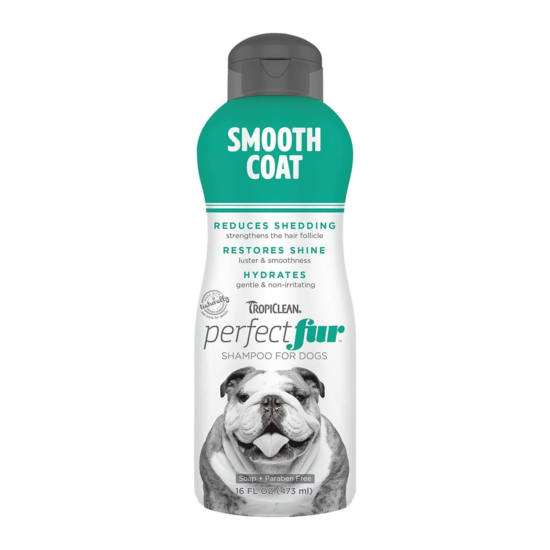TropiClean Perfect Fur Dog Shampoo - Smooth Coat