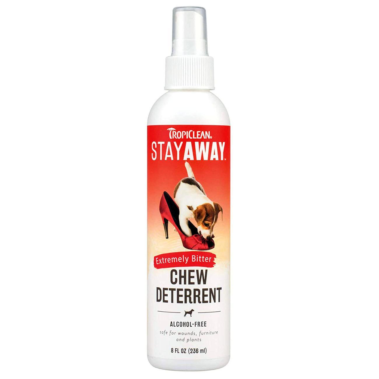 TropiClean Stay Away Dog Chew Deterrent Spray