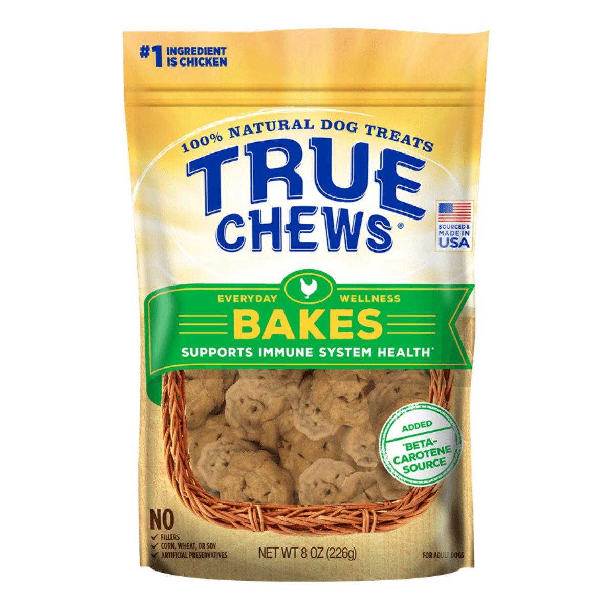 True Chews Everyday Wellness Bakes Dog Treat - Immune Health