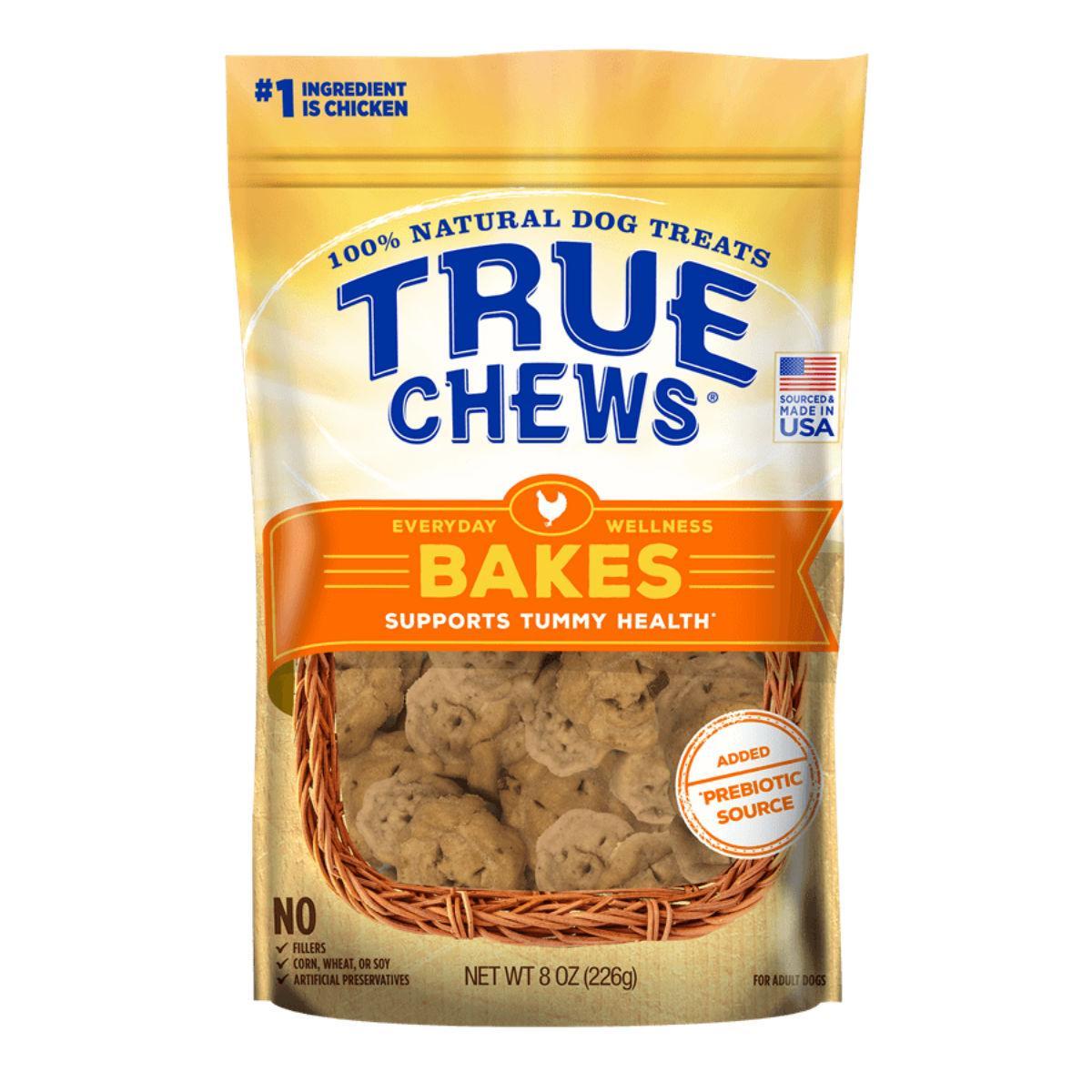 True Chews Everyday Wellness Bakes Dog Treat - Tummy Health