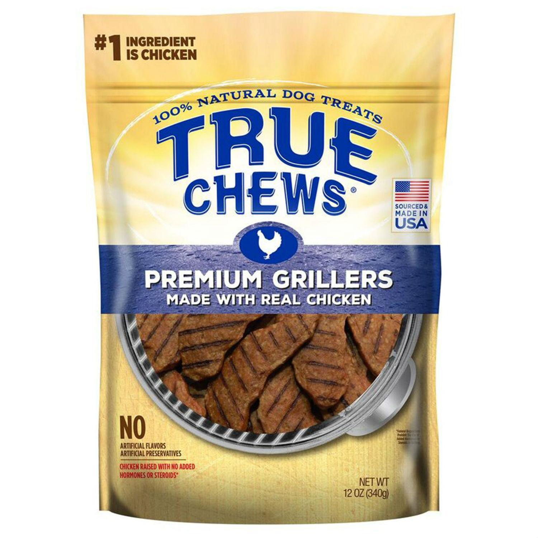 True Chews Premium Grillers Dog Treat - Real Chicken