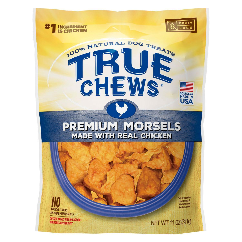 True Chews Premium Morsels Dog Treats - Real Chicken