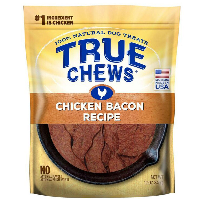 True Chews Premium Recipe Dog Treat - Chicken Bacon