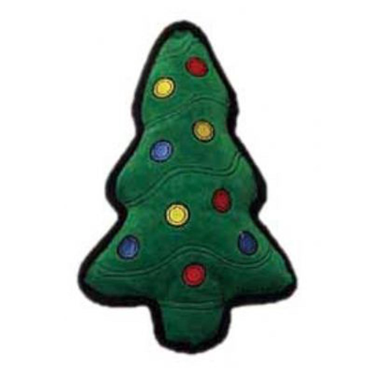 Tuff One Holiday Christmas Tree Dog Toy