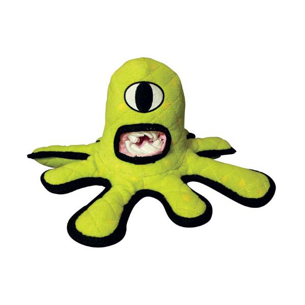 Tuffy Dog Toys - Green Alien