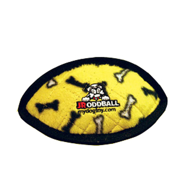 Tuffy Dog Toys - Jr Odd Ball Yellow