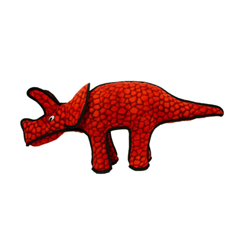 Tuffy Dog Toys - Triceratops Dinosaur
