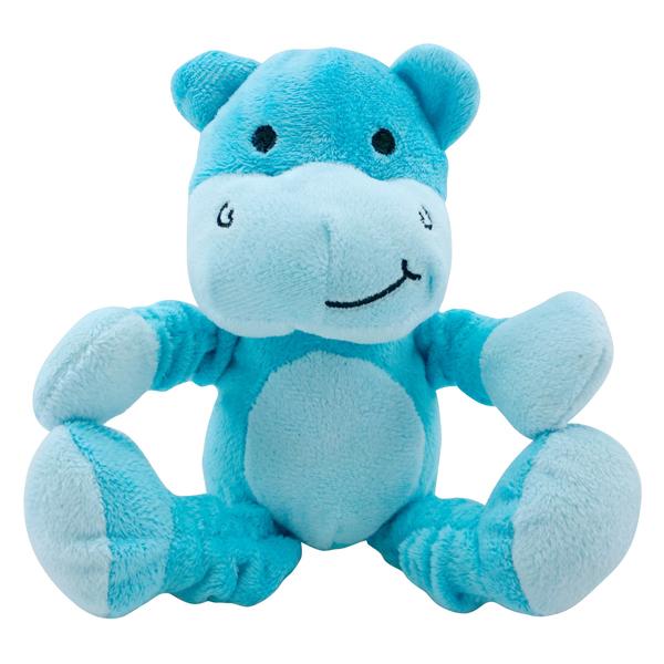 foufou Dog Tuggy Dog Toy - Hippo