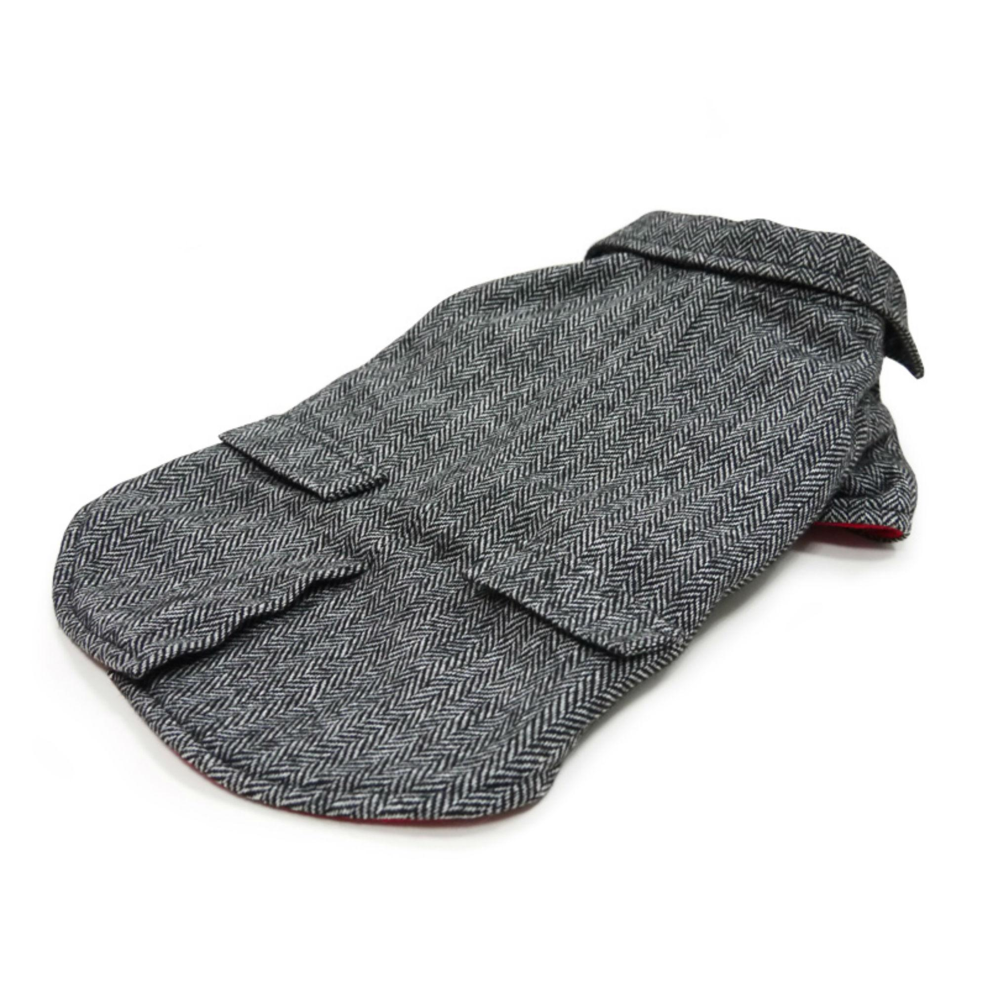 Tweed Dog Blazer by Dogo - Gray