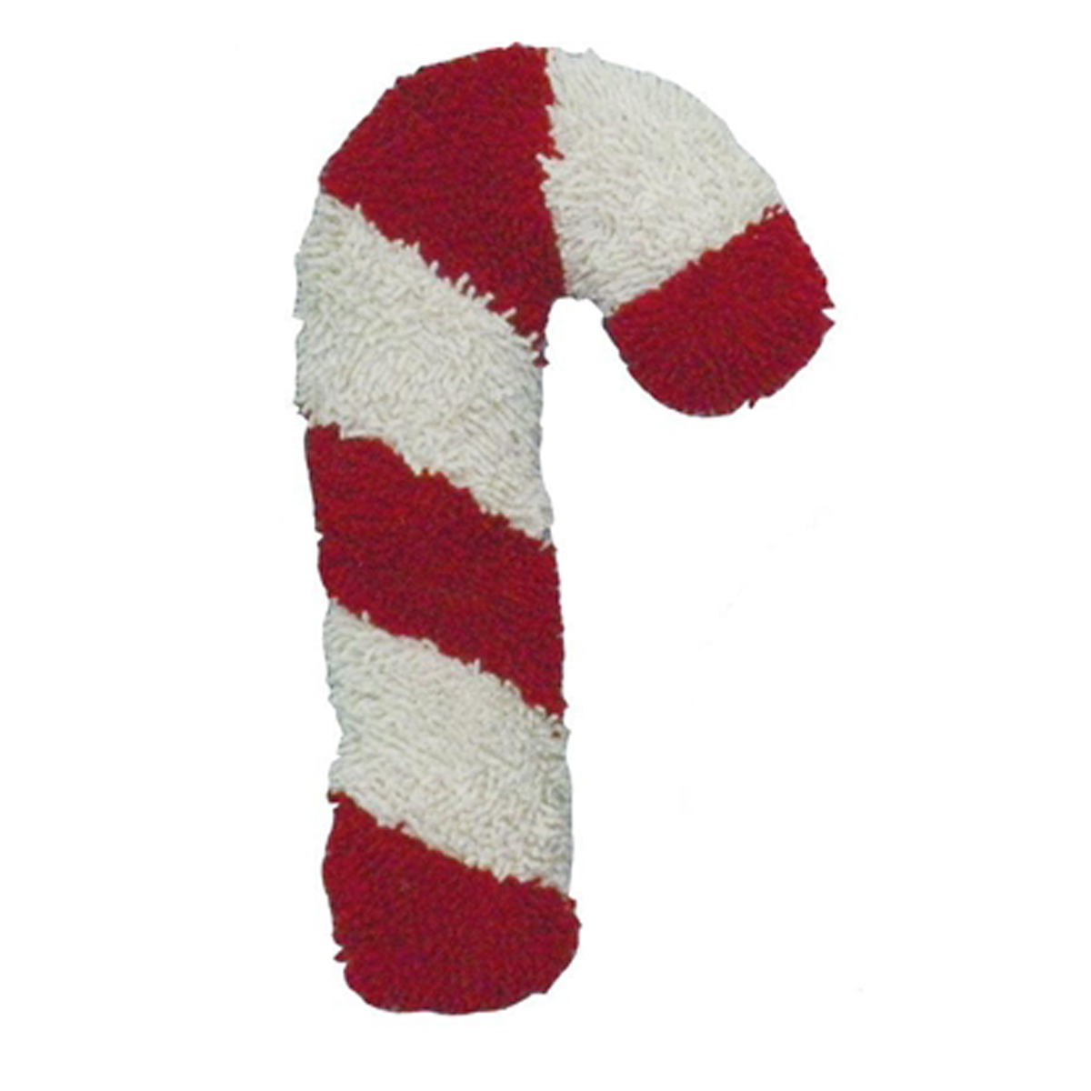 Twisted Candy Cane Dog Toy