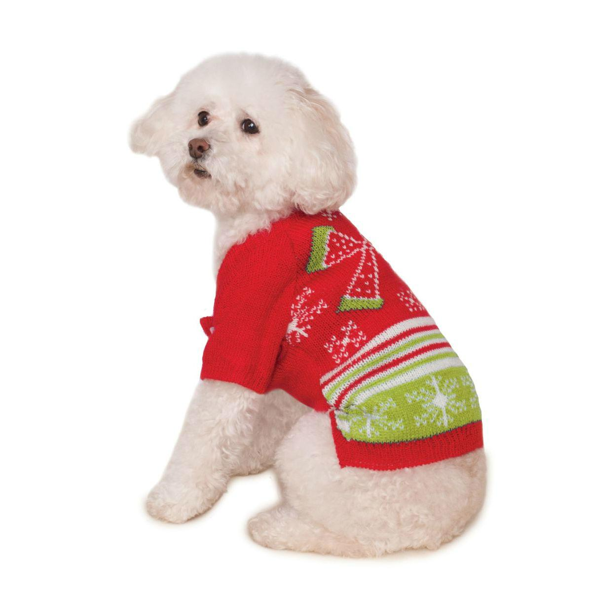 Ugly Christmas Dog Sweater - Bow Snowflake