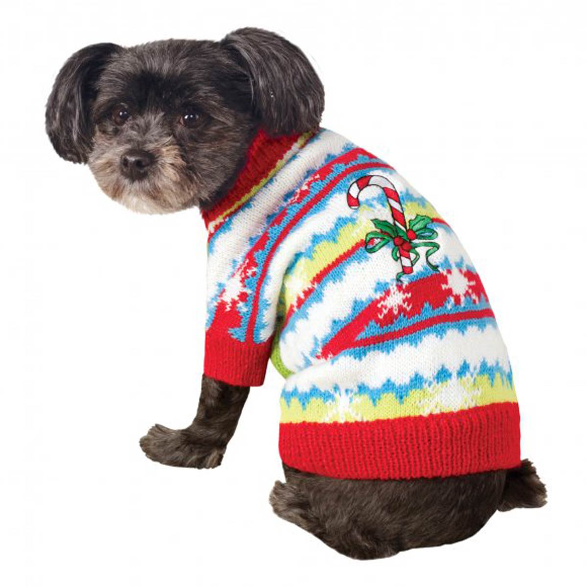 ugly christmas dog sweater cute candy cane - Ugly Christmas Dog Sweater