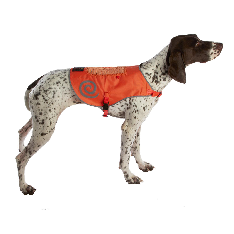 Ultra Paws Dog Reflective Safety Vest - Orange