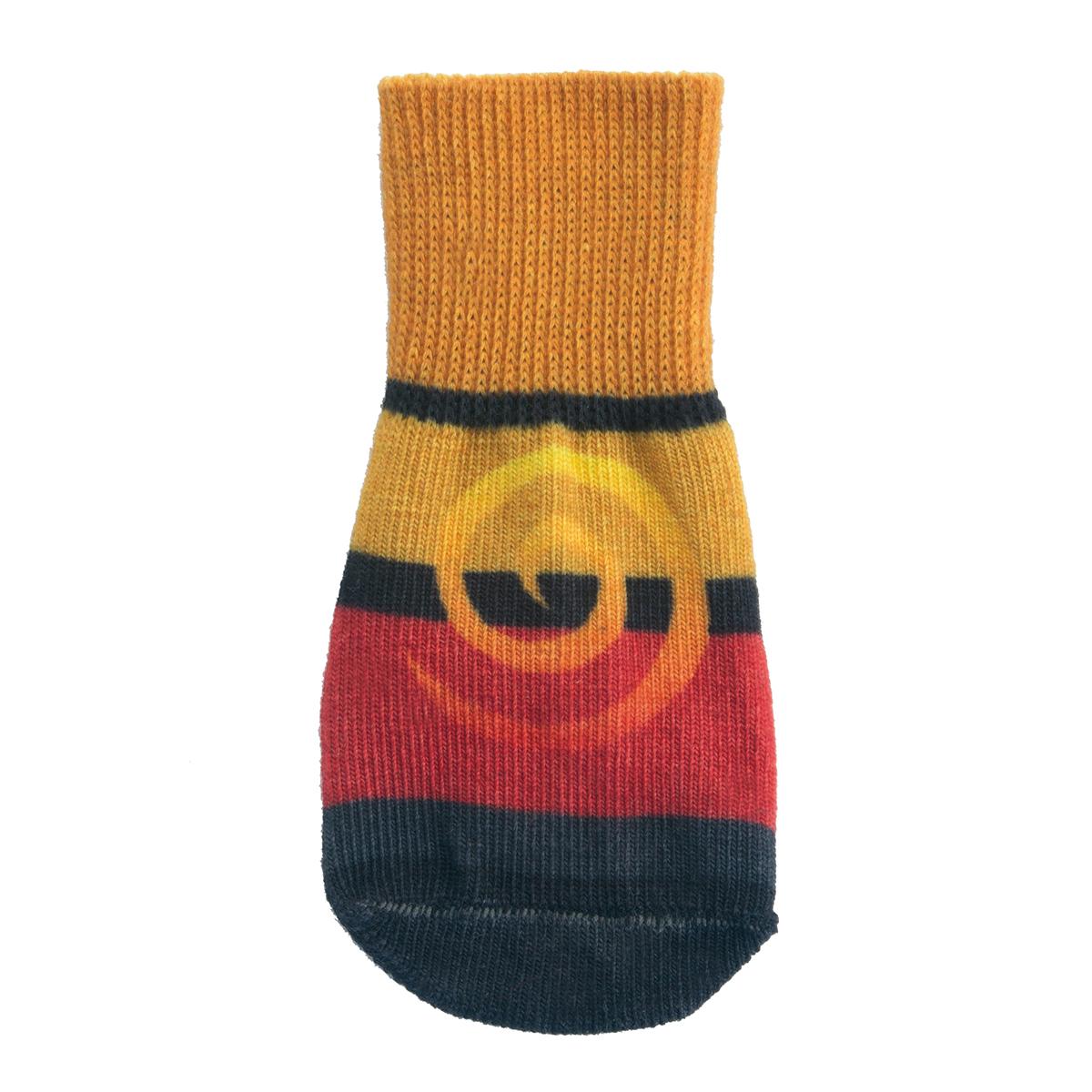 Ultra Paws Doggie Socks - Oakley Orange/Red