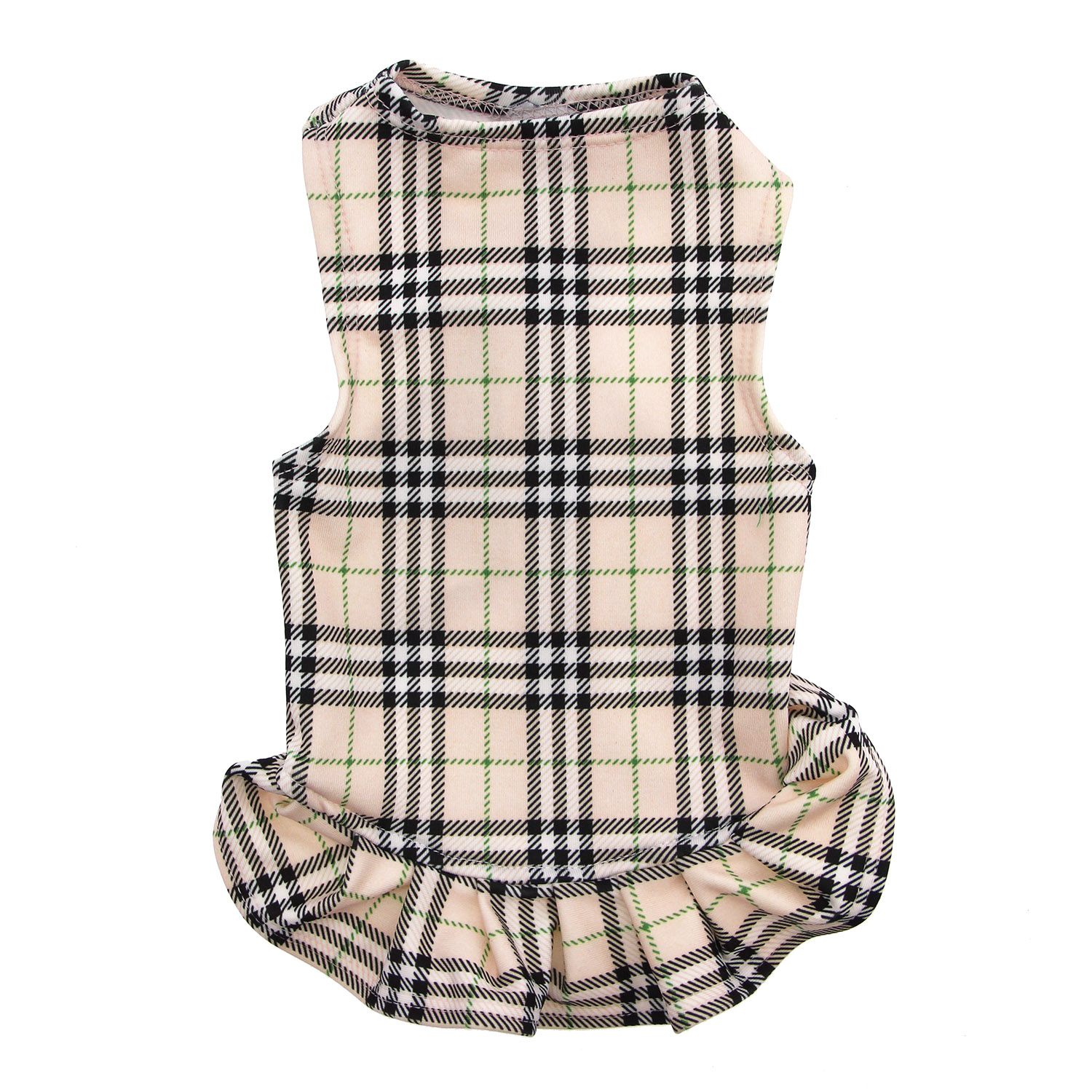 Under-Wrapper London Plaid Dog Dress by Daisy and Lucy
