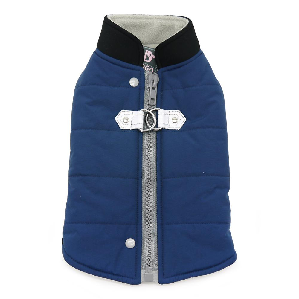 Urban Runner Dog Coat by Dogo - Blue