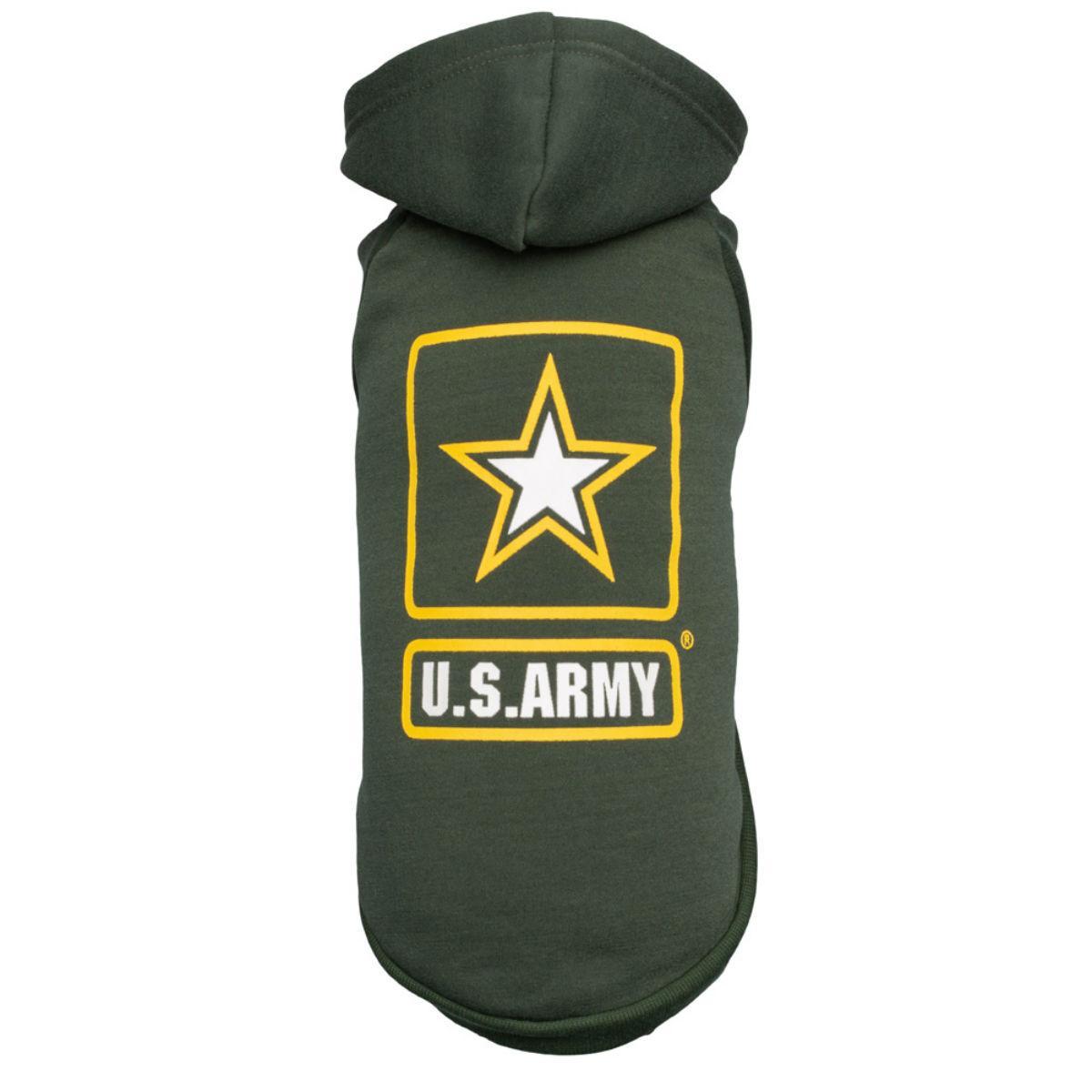 U.S. Army Dog Hoodie - Green