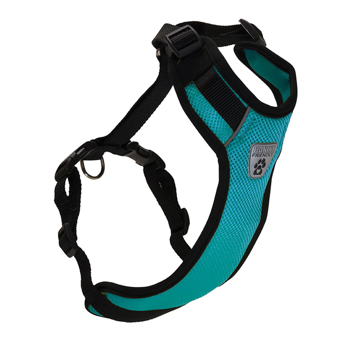 Vented Vest Car Seat Dog Harness - V2 Teal