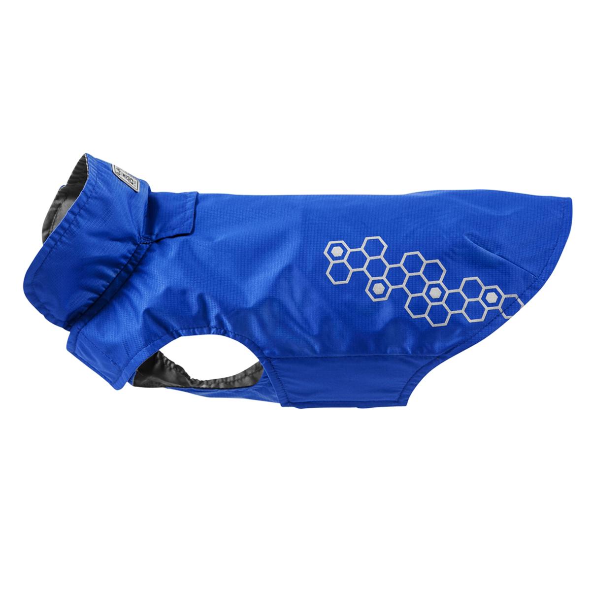 Venture Shell Slicker Dog Jacket - Electric Blue