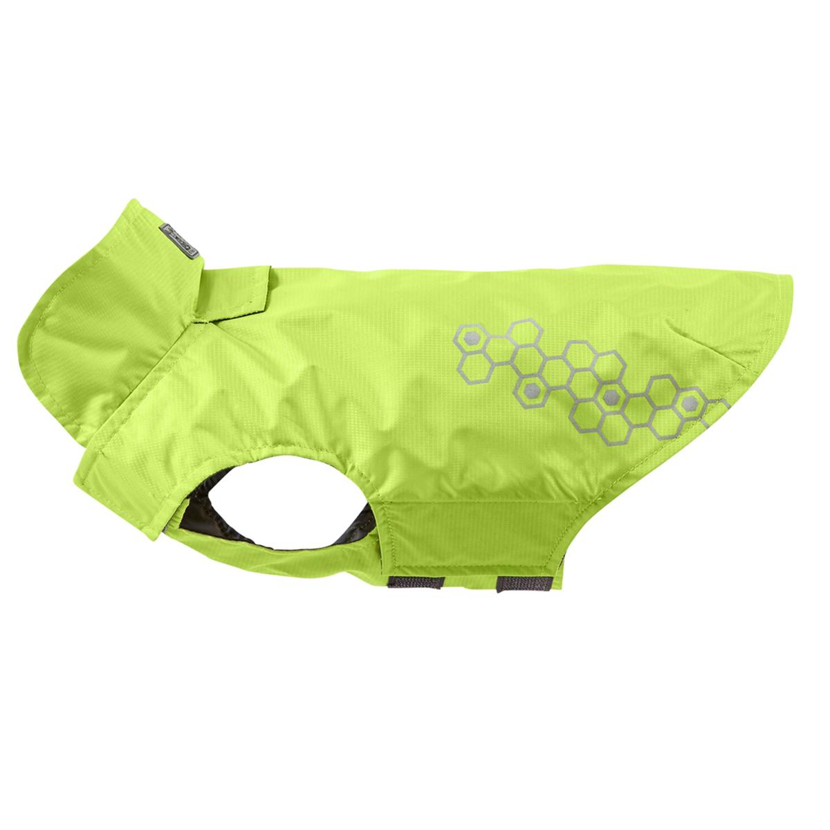 Venture Shell Slicker Dog Jacket - Lime Punch