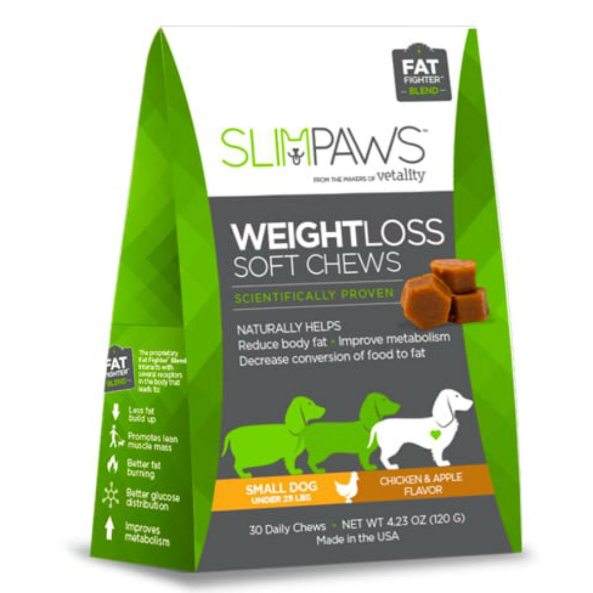 Vetality Slim Paws Weight Loss Soft Chews
