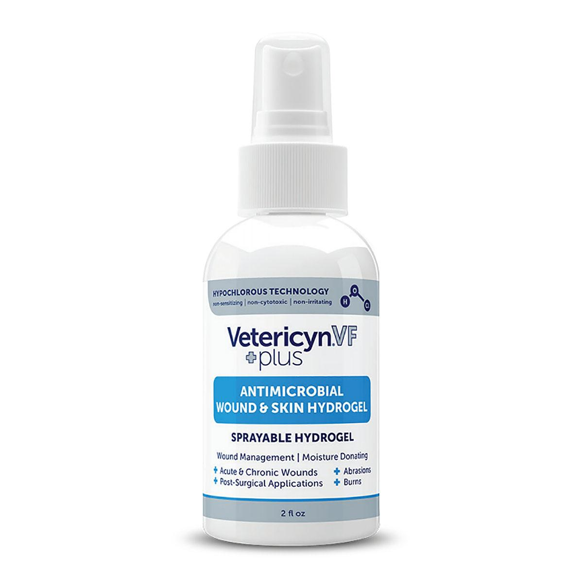 Vetericyn VF Plus Antimicrobial Wound & Skin Care Hydrogel for Pets - 2 ounces