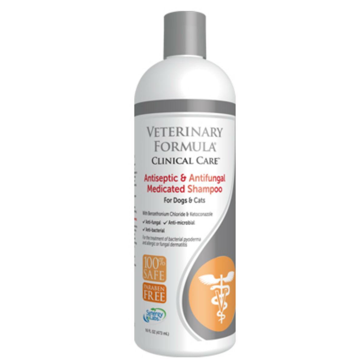 Veterinary Formula Clinical Care Antiseptic & Antifungal Medicated Dog Shampoo