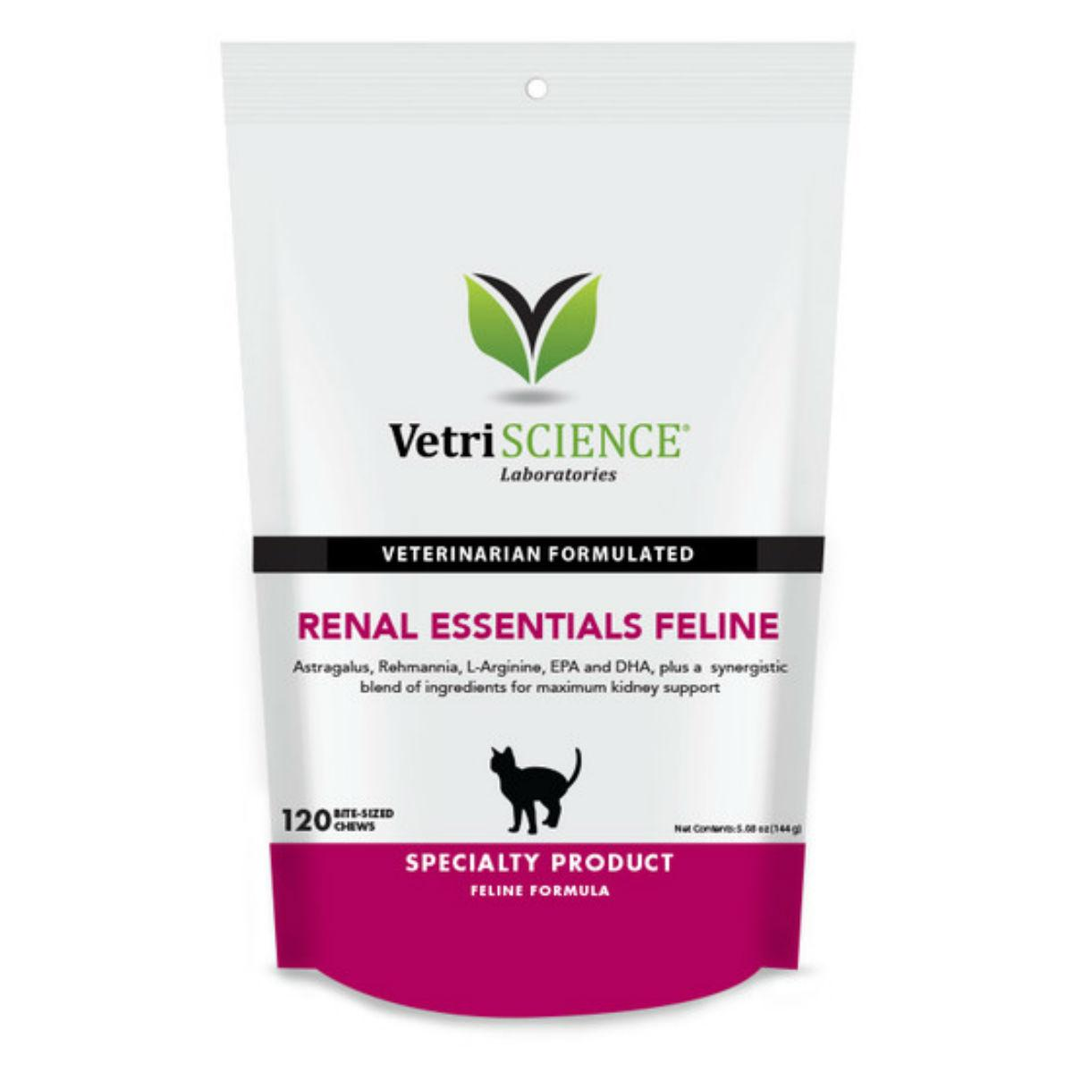VetriScience Renal Essentials Feline Bite-Sized Cat Chews