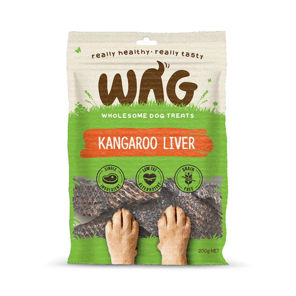 WAG Kangaroo Liver Dog Jerky Treats