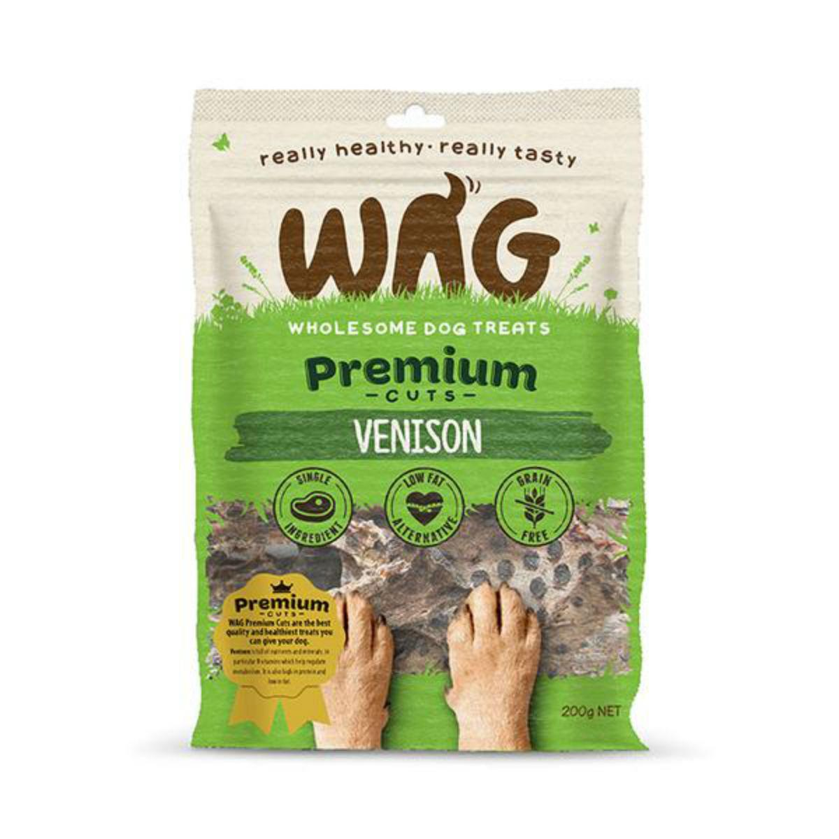 WAG Venison Jerky Dog Treat