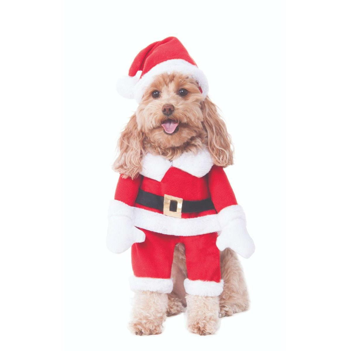 Walking Santa Dog Costume by Rubies