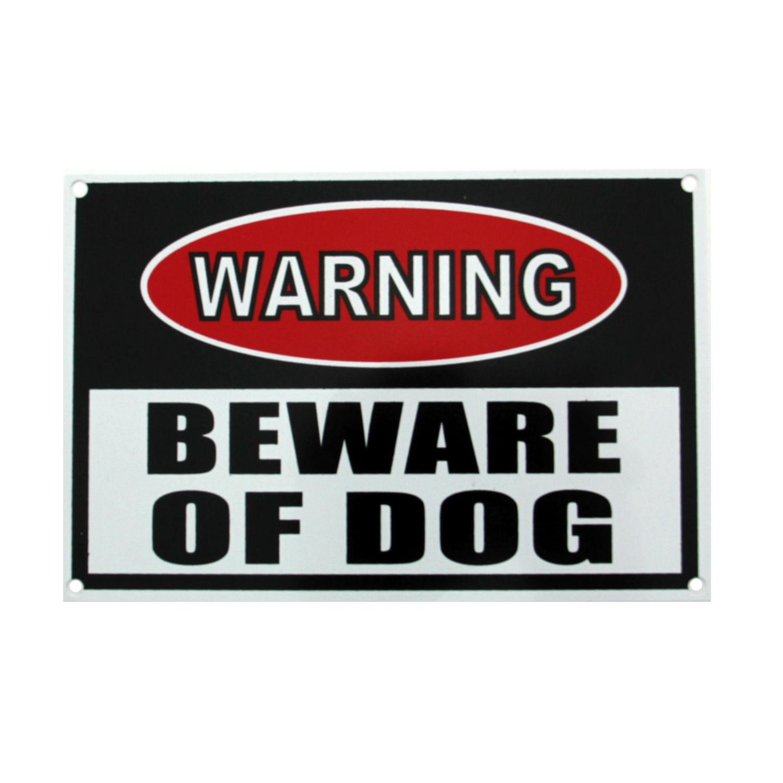 Large Beware Of Dog Sign