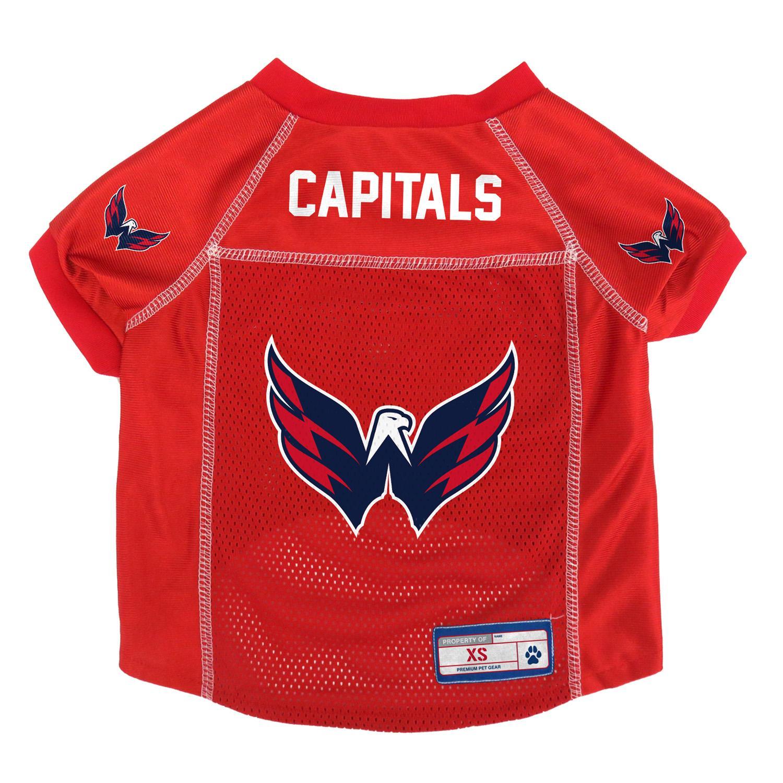 Washington Capitals Mesh Dog Jersey - Red