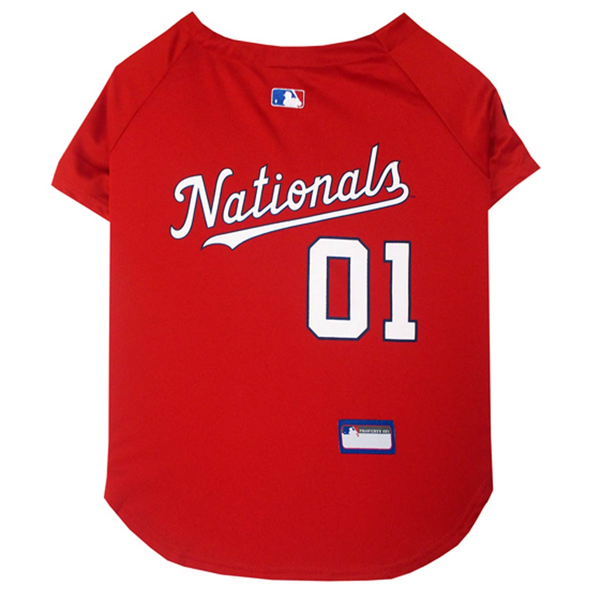 Washington Nationals Officially Licensed Dog Jersey - Red