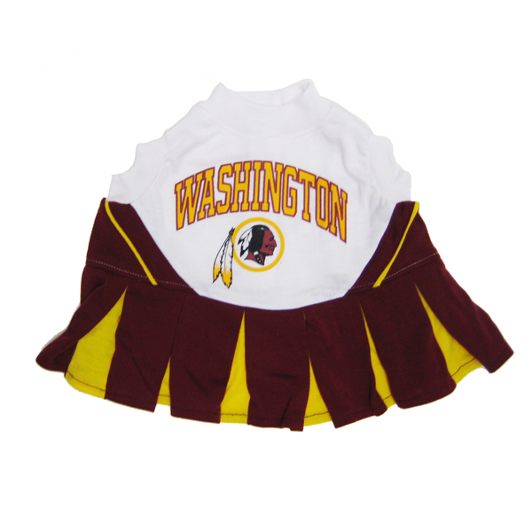 best service 6a247 08d8b Washington Redskins Cheerleader Dog Dress