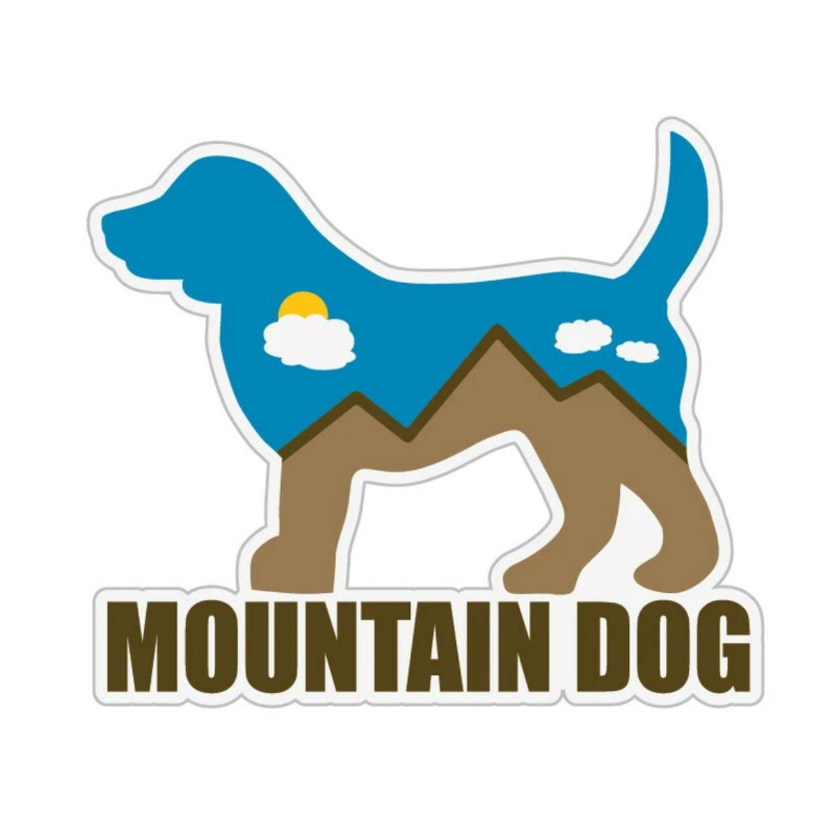 Mountain Dog Sticker by Dog Speak