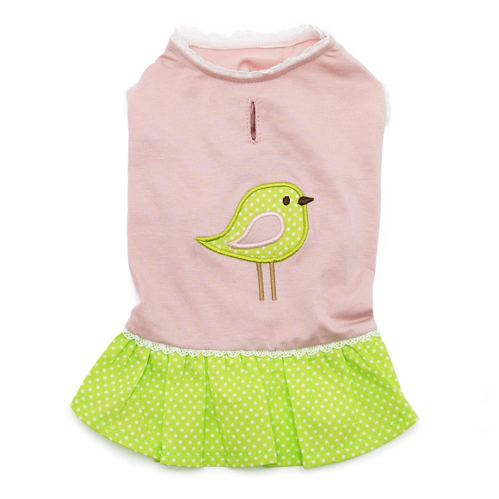 Little Birdy Dog Dress by Dogo