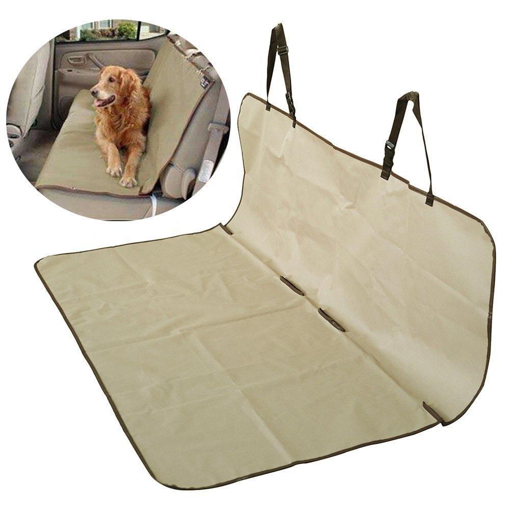 Phenomenal Waterproof Bench Dog Car Seat Cover Beige Caraccident5 Cool Chair Designs And Ideas Caraccident5Info