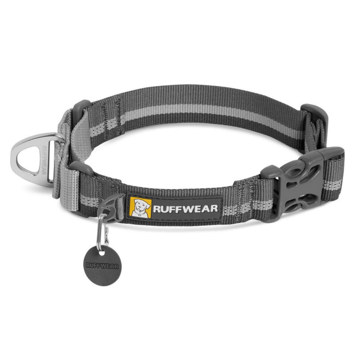 Web Reaction Dog Collar by RuffWear - Granite Gray