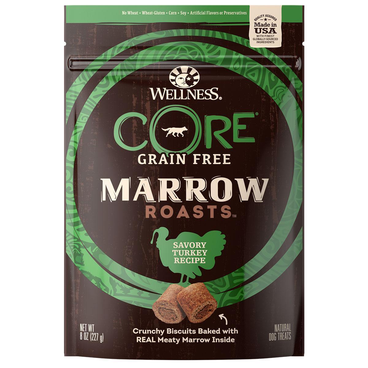 Wellness CORE Natural Grain Free Marrow Roasts Dog Treats - Turkey Recipe
