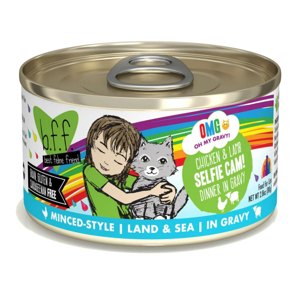 Weruva BFF OMG! Selfie Cam Wet Cat Food - Chicken & Lamb Dinner in Gravy