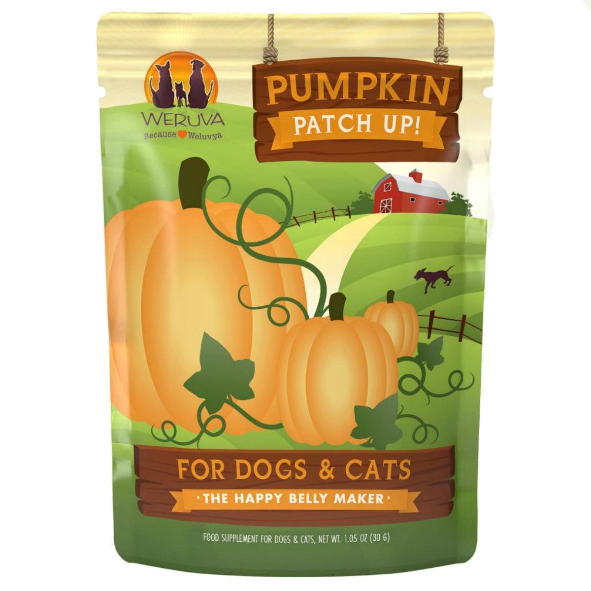 Weruva Cat & Dog Food Supplement Pouch - Pumpkin Patch Up!